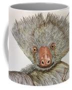 Crazy Two Toed Sloth Coffee Mug