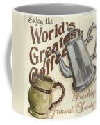 Cream Coffee 1 Coffee Mug by Debbie DeWitt