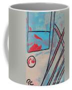 Cream Colored Door Coffee Mug