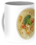 Cream Of Broccoli Soup Coffee Mug