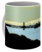 Creamy Blue Sunset Sf Gate Coffee Mug