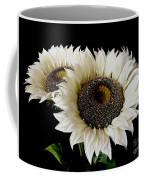 Creamy Sunflowers Coffee Mug
