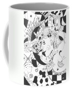 Creatures And Features Coffee Mug by Helena Tiainen