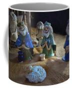 Creche Kings Coffee Mug by Nancy Griswold