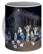 Creche Top View  Coffee Mug by Nancy Griswold