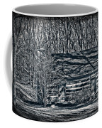 Creepy Cabin In The Woods Coffee Mug