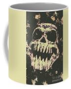 Creepy Face From Nightmares Past Coffee Mug