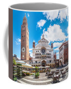Cremona Market Square With Cathedral Coffee Mug