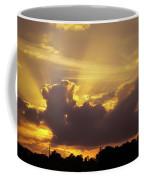Crepuscular Rays Of Sunlight Coffee Mug