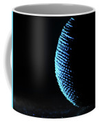 Crescent Ball In Cyan Coffee Mug by Scott Cordell