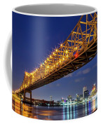 Crescent City Bridge, New Orleans, Version 2 Coffee Mug