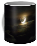 Crescent Moon In The Clouds Coffee Mug