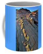 Crest Of Sandstone Wave At Sunset In Valley Of Fire Coffee Mug