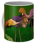 Crested Cranes Coffee Mug