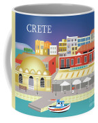 Crete Greece Horizontal Scene Coffee Mug