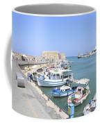 Crete Island Harbour  Coffee Mug