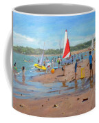 Cricket And Red And White Sail Coffee Mug