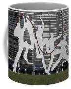 Cricket Art Sculpture Southampton Coffee Mug