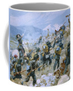 Crimean War And The Battle Of Chernaya Coffee Mug by Italian School