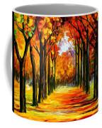 Crimson Alley Coffee Mug