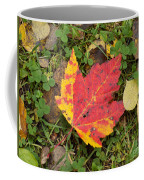 Crimson And Clover Coffee Mug