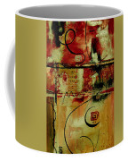 Crimson And Copper Coffee Mug