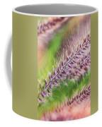 Crimson Fountaingrass Abstract Coffee Mug