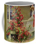 Crimson Rambler Coffee Mug by Philip Leslie Hale