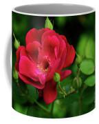Crimson Red Rose By Kaye Menner Coffee Mug