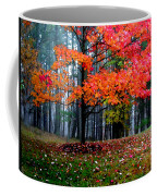 Crimson Tree Coffee Mug