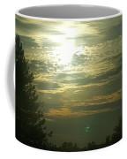 Crinkled Forehead Lines In The Sky Coffee Mug