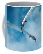 Crisscrossing T 6's Coffee Mug