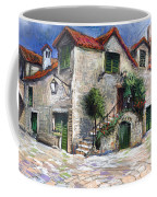 Croatia Dalmacia Square Coffee Mug