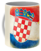 Croatia Flag Coffee Mug by Setsiri Silapasuwanchai