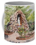 Crockett California Saint Rose Of Lima Church Grotto Coffee Mug