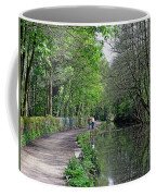 Cromford Canal - Tree Lined Walk Coffee Mug