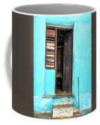 Crooked Blue Coffee Mug