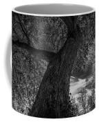 Crooked Oak Black And White Coffee Mug