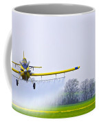 Too Close For Comfort - Crop Dusting 2 Of 2 Coffee Mug