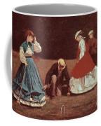 Croquet Scene Coffee Mug