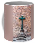Cross And Cusco Cathedreal Coffee Mug