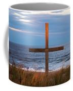 Cross Light Square Coffee Mug