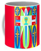 Cross Of Colors Coffee Mug