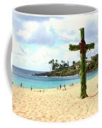 Cross In The Sand Coffee Mug