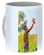 Cross To The Sky Coffee Mug