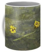 Crossed Sunflower  Coffee Mug