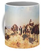 Crossing The Desert Coffee Mug by Jean Leon Gerome
