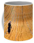 Crossing The Field Coffee Mug