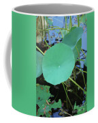 Crossing The Lily Pond Outback Number One Coffee Mug
