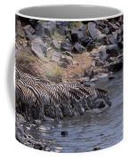 Crossing The Mara River Coffee Mug